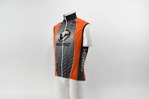 Verge Large Men' Racing Cycling Vest Orange Black New