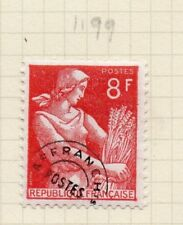 France 1954 Early Pre-Cancel Issue Fine Mint Hinged 8f. 232572