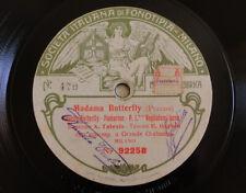 78rpm Amelia Talexis & Edoardo Garbin - Madama Butterfly, Duetto - Fonotipia