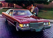 1974 Cadillac Coupe Deville, #2, Refrigerator Magnet, 40 MIL
