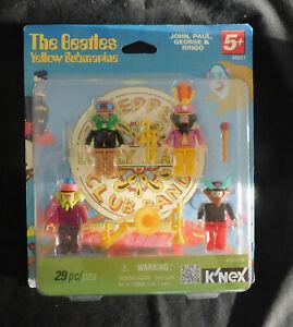 The Beatles Yellow Submarine K'NEX SGT. PEPPERS  29 Pieces NIB 2012