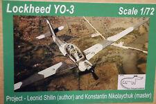 """Lockheed YO-3A  """"Quiet-Star"""" Sealth Vietnam Recce A/C  Croco  Resins 1/72"""