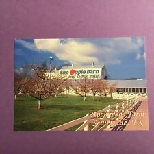 4X6 in. The Apple Barn and Cider Mill Sevierville Tennessee Unposted Postcard