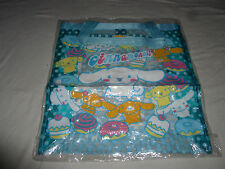 NEW W TAG SANRIO CINNAMOROLL SWEETS DONUTS CLEAR PLASTIC TOTE BAG BEACH NWT 2003