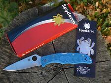 NUOVO Spyderco Endura 4 SC10FPBL Coltello blu