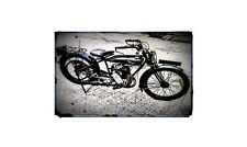1927 humber Bike Motorcycle A4 Retro Metal Sign Aluminium