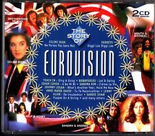 EUROVISION -The Story Of 2-CD (Best Of/Celine Dion/Lulu/Sonia/Carola) Euro Pop