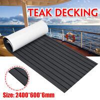 240x60CMx6MM Marine Flooring Faux Teak EVA Foam Boat Decking Yacht Sheet