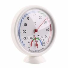 Analog Humidity Gadget Hygrometer Thermometer Temperature Weather Meter -35~55C