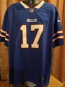 NFL Jersey Bills Allen #17 XXL