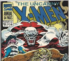 The Uncanny X-MEN ANNUAL #18 Jubilee, Caliban, Sabretooth 1994 in F/VF Con. NS