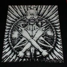 ANTICHRIST big back patch punk metal satan pentagram