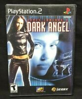 James Cameron's Dark Angel - PS2 Playstation 2 Game Tested Working