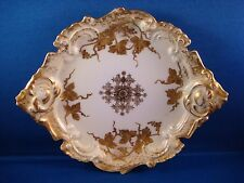 ORNATE GOLD ENCRUSTED LIMOGES FRANCE DISH EXCELLENT CONDITION!!!