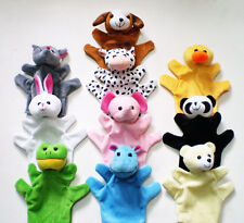 10Pcs Baby Child Kid Cute Animal Hand Sock Glove Puppet Finger Sack Plush toy