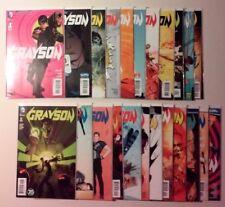 Grayson #1-20 (DC, 2014) 3 annuals complete Near Mint