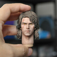 """Delicate 1/6 Star War Devil Version Anakin Skywalker Head Sculpt Fit 12"""" Figure"""
