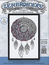 """Embroidery Kit ~ Design Works Zenbroidery """"Dreamcatcher"""" #DW4005"""