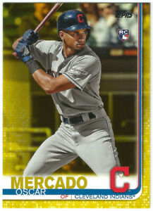 2019 Topps Update Series Walgreens Yellow #US28 Oscar Mercado-Rookie