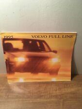 1995 Volvo Full Line Sales Brochure 95 850 940 960