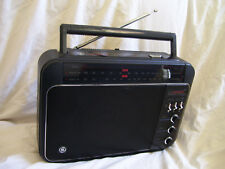 VINTAGE GE SUPERADIO LONG RANGE PORTABLE RADIO 7-2887A OVERALL NICE CONDITION