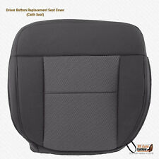 2004 - 2006 Ford F150 XLT Driver Bottom Dark Gray Cloth Replacement Seat Cover