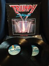 Triumph - Stages Double LP