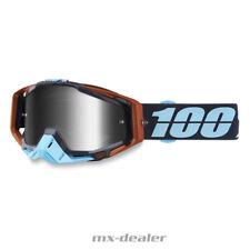 2019 100 /% Racecraft verspiegelt Cosmos 99 MX Motocross Cross Brille MTB BMX