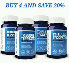 TRIBULUS TERRESTRIS 4x1000mg 90caps 95% Saponins 80% Protodioscin 12MTHS SUPLY