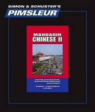NEW 2: Pimsleur Language Program, Chinese (Mandarin) II by Pimsleur
