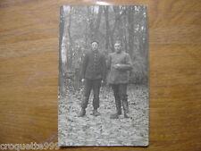 cpa Postcard Carte Photo MILITAIRE militaria WWI soldats N° 21 sur l uniforme