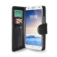 Custodia Flip portadocumenti per Huawei Honor 3X G750, Colore: Nero
