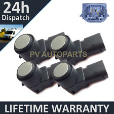 4X FOR PEUGEOT 307 308 407 PARTNER TEEPEE SW RCZ SILVER PDC PARKING SENSOR