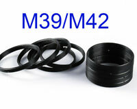 Leica M39 to M42 Screw Lens Mount Adapter Step Up Ring For Pentax M39-M42
