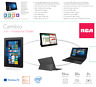 "RCA Cambio 10.1"" 32GB Tablet Windows 10 WIFI With Keyboard (1 Year Warranty)"