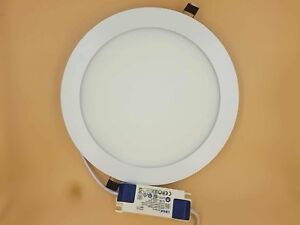 18W ULTRA SLIM LED RECESSED LIGHTING PANEL CEILING DOWN LIGHT ROUND