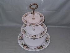 Royal Doulton Miramont 3-Tier China Hostess Cake Plate Stand TC.1022