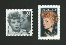 I Love Lucy TV Lucille Ball Desi Arnaz Hollywood Legend US Stamps MINT CONDITION
