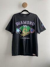 THE HUNDREDS X DIAMOND SUPPLY CO Limited Edition Baseball Black Tshirt Large