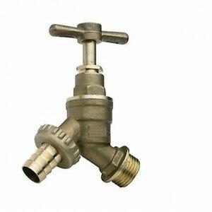 NEW outside garden tap solid brass 1/2 hose union bib
