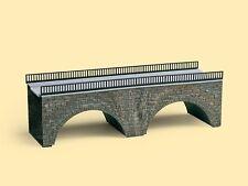 AUHAGEN HO scale - ROAD BRIDGE - plastic 1/87 model kit # 41589 suit MODEL TRAIN