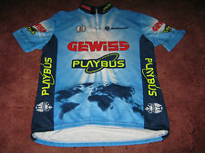 GEWISS PLAYBUS BIANCHI BIEMME ITALIAN CYCLING JERSEY [5-XL-52]...