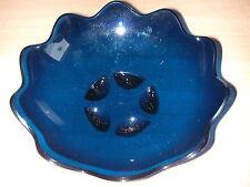 #Tupperware Eleganzia Venusschale Dessertschale wie neu! dunkelblau