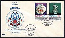 TURCHIA 1976 FDC Europa CEPT