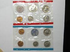 BU 1970 Uncirculated US Mint Set w/40% Silver Kennedy Half Dollar - #8063-5