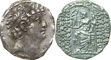 93-83 BC Syria Seleucid Kingdom Silver Tetradrachm VF+ Philip Philadelphos