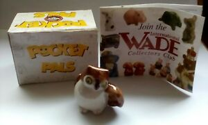 "Wades ""Pocket Pals, Specs The Owl""1999, Collectors Club ,One of Ten As A Set.🌏"