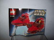 LEGO STAR WARS SET 7119 TWIN POD CAR COMPLETE NO BOX