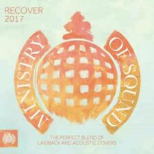 RECOVER 2017 various artists - ministry of sound (2X CD, compilation) acoustic
