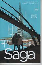 Saga #32 comic book Brian K. Vaughan Fiona Staples Eisner Award winner
